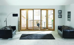 The Ultimate Aspect delivers a real step change in the appearance of PVC-U bifold doors with slim sightlines, elegant hardware and wide choice of foiled options.